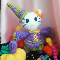 Kitty witch inspired. Cute Halloween   Available now.