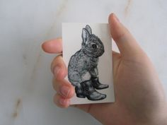 Temporary Tattoo - Bunny / Cats