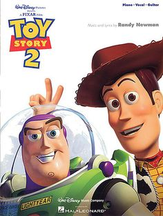 Randy Newman: Toy Story 2 - Piano, Vocal and Guitar. £8.95