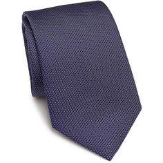 Eton of Sweden Textured Silk Tie (9.680 RUB) ❤ liked on Polyvore featuring men's fashion, men's accessories, men's neckwear, ties, apparel & accessories and blue