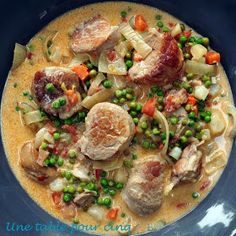 Une table pour cinq: Blanquette de filet mignon aux petits légumes