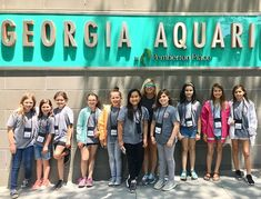 Our fourth graders brought Lake Park goodness to the big city this week! #georgiaaquarium #i75northbound #atlantaga #fieldtripping #learningatlpe
