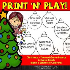 NO COLOR INK ! Game boards and activities targeting pronouns & is/are + verbing. Two open-ended game boards!