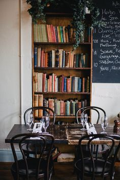 The Winding Stair  in Dublin by Beth Kirby | {local milk}, via Flickr  #restaurant #cafe #industrial #rustic #eclectic