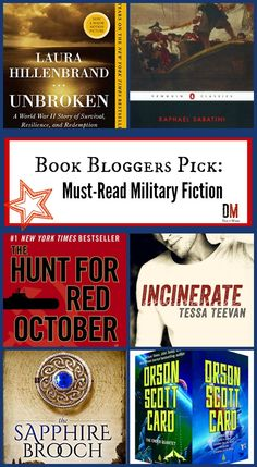 Want a good book that has a military element? In this post, 6 book bloggers share the best military books with you!