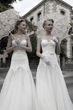 Zweierpack mit Spitze #lace #wedding