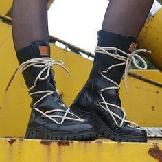 Megamok 4013 Black Boots, Winter, Black, Fashion, Crotch Boots, Winter Time, Moda, Black People, Fashion Styles