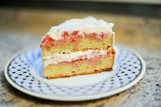 Strawberry shortcake cake...I think I am obligated to make this since strawberries are so inexpensive!