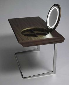 Modern Makeup Table Made of Wood
