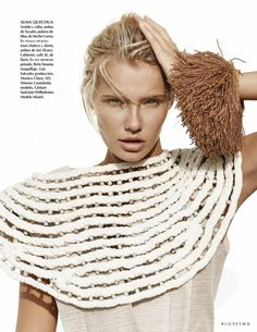 Identitiy in Vogue Mexico with Gintare Sudziute - Fashion Editorial | Magazines | The FMD #lovefmd