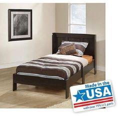 Modern Twin Platform Bed Frame