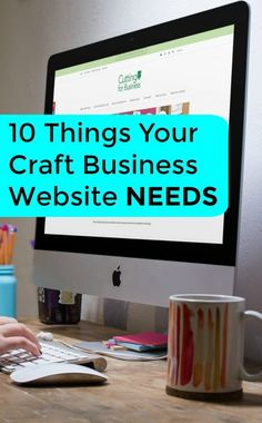 10 Things Your Craft Business Website Needs - A good read for Silhouette Portrait or Cameo and Cricut Explore or Maker small business owners - cuttingforbusines. Successful Home Business, Home Based Business, Business Planning, Business Tips, Online Business, Business Names, Business Products, Business Goals, Business Logo