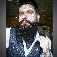 #sketch #beardlife #beardlove #beard #beardoil #beardy #beardeddad #dapper #dapperbeard #beardmaniac #beardandtats #beardporn #beardgang #beardfriends #bearded #beardedgent #beardedbrotherhood #poser #andriod #cravatselfie