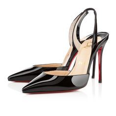 ever 100mm black patent leather