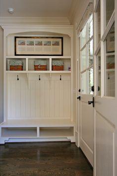 Mudroom Entry - traditional - entry - atlanta - Dresser Homes
