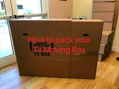 """You can now pack your 70"""" flat-screen in our durable TV moving box with no worry of it being damaged during your move! In this video, we will show you exactly how to pack and secure it. Don't worry, #ESPN will be waiting for you as soon as you get to your new home! #MovingCompany #ShippingSupplies #MovingTips #BackToSchool #CollegeLife #LogisticsCompany #LastMileDelivery #WholesaleSupplier #FreeShipping #TVBox #ShopSmall #ShopSmallBusiness Moving Kit, Moving Boxes, Packing Supplies, Corrugated Box, Shipping Supplies, Box Tv, Espn, Don't Worry, Back To School"""