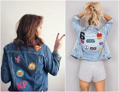 Jaquetas Decoradas - Patches - Como Usar - Futilish