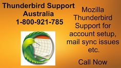 Get Mozilla Thunderbird support in Australia for trubled users. Dial our Thunderbird helpline toll-free number and get fixed your issues now. Mozilla Thunderbird, Thunderbird 1, Fix You, Australia, Tech Support, Third Party, Number, Software, Free