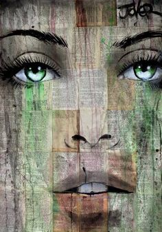 "Saatchi Art Artist LOUI JOVER; Drawing, ""madly deeply"" #art"