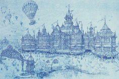 Disneyland Hotel Paris concept art