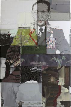 """oil on canvas, 8' 6-3/8"""" x 66-15/16"""" (260 cm x 170 cm), ©2012, Li Songsong"""