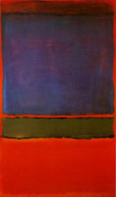 Mark Rothko No 6 Violet Green and Red
