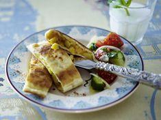 Unser beliebtes Rezept für Gözleme (Türkische Fladen) und mehr als 55.000 weitere kostenlose Rezepte auf LECKER.de.