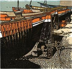 Jackson Prints & H. Catalogue of work by artist H. Jackson to browse and buy online. Engraving Printing, Western Landscape, High Tide, Linocut Prints, French Artists, Gravure, Woodblock Print, Print Artist, Artist At Work