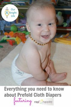 Everything You Need to Know About Prefold Cloth Diapers