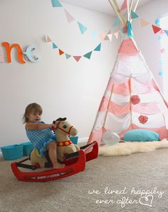 We Lived Happily Ever After: $55 Little Girl Playroom Reveal