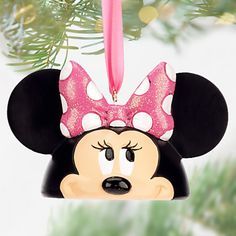 Minnie Mouse Ear Hat Ornament, Bow-top, Item No. 7509055890048P $24.95