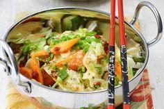 Asiatisches Wok-Gemüse mit Curry