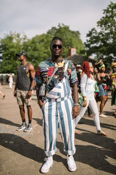 Music Festival Fashion, Festival Outfits, Festival Style, Afro Punk Fashion, Concert Dresses, Afro Style, Best Dressed Man, Mens Clothing Styles, Summer Looks