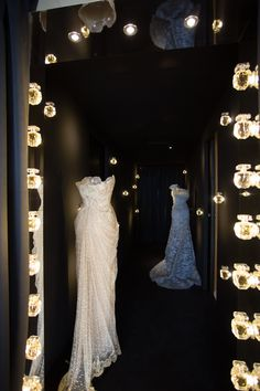 Love love love!!!! ELIE SAAB Haute Couture gowns on display at the Suite in Cannes, France.