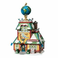 Amazon.com - Department 56 North Pole Around World 24 Hours Flight Center