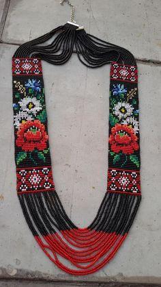 multistrand collar gerdan collar de flecos grano de semilla