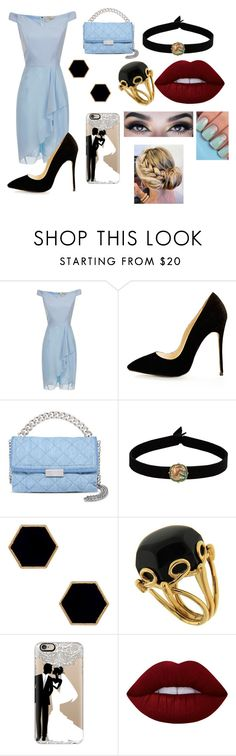 """""""Wedding witness"""" by i-m-superstar ❤ liked on Polyvore featuring STELLA McCARTNEY, The Flexx, Janna Conner Designs, Valentin Magro, Casetify and Lime Crime"""