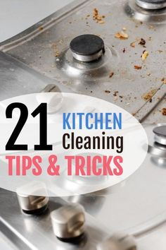 Discover 21 Kitchen Cleaning hacks that are cost effective, safe, natural and most importantly (They Work!). This blog post features kitchen cleaners that you can make with vinegar, baking soda, lemons to effectively remove dirt, grease, grime, recipes that makes cleaning microwave oven, cleaning countertop so easy! So what are you waiting for? Visit the blog post and start cleaning your kitchen today! #cleaning #kitchencleaninghacks #vinegar #bakingsoda #dawn #lemon #organization Household Cleaning Tips, Cleaning Recipes, House Cleaning Tips, Cleaning Hacks, Oven Cleaning, Diy Kitchen Storage, Kitchen Hacks, New Kitchen, Burnt Food