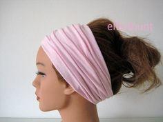 Haarband extrabreit 14 cm rosa von  Maria Elfenbunt auf DaWanda.com Hair, Fashion, Pink, Amazing, Moda, Fashion Styles, Fashion Illustrations, Strengthen Hair