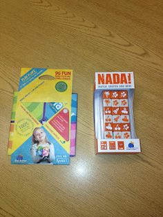 Live Love Speech: Nada! and Flapz by Blue Orange Games {REVIEW}