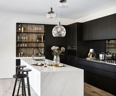 86 Best Black and White Kitchen Decor Ideas images in 2019 ... Ideas For Black And White Kitchen on black and white wedding reception ideas, black and white printable periodic table, black and white traditional kitchens, black kitchen design, black and white kitchens hgtv, high gloss black kitchen ideas, black and white tattoo ideas, black and white galley kitchens, black luxury kitchen, black backsplash ideas, black kitchen cabinets ideas, black kitchen island, black and off white kitchens, black and white painting ideas, before and after kitchen ideas, black white red kitchen, black and white stuff, black and white nail ideas, black and white kitchens with yellow accents, black kitchen sink ideas,