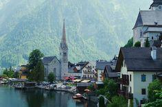 https://flic.kr/p/Rj8YBQ   The Village in the Mountains   Hallstatt, Austria instagram: @lucasmarcomini Prints: www.society6.com/lucasmarcomini