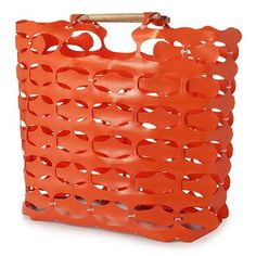 Tote from construction fencing!  Industrial Strength from David Shock.