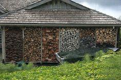 chop wood, store wood