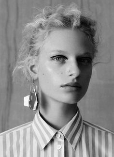 Frederikke Sofie, Adrienne Ju?liger by Ben Toms for Vogue China January 2016 6