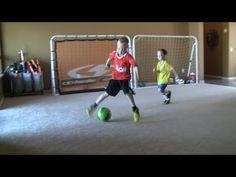 6-7 football/soccer kid with skills of Messi/Ronaldo/Neymar trying to be next Iniesta pt. 2