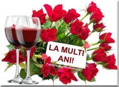 Happy Birthday Greetings Friends, Red Wine, Wine Glass, Alcoholic Drinks, Rose, Tableware, Google, Pink, Dinnerware