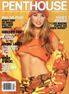 Penthouse December 2001 with Cheyenne Silver