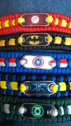 Paracord Bracelets: