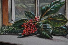 2012 Holiday Series #8, painting by artist Andy Smith